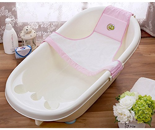 bluestar-baby-newborn-baby-bath-seat-net-baby-bath-support-sling-hammock-net-pink