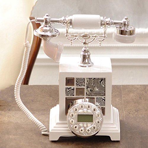Hjhy® européenne téléphonique, haute-End téléphone rétro/antique Maison/mode Creative 22x 29.5cm téléphone portable