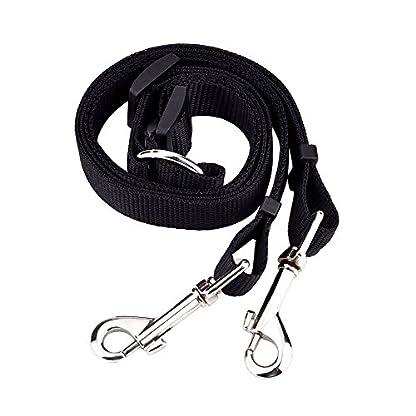 eBoot Adjustable Double Dog Leash Lead Splitter Coupler, Black 5