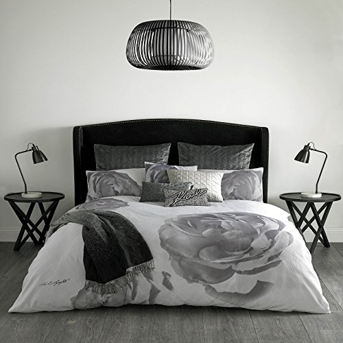 Duvet Cover Karl Lagerfeld Pixel Rose Grey Super King Best Price and Cheapest