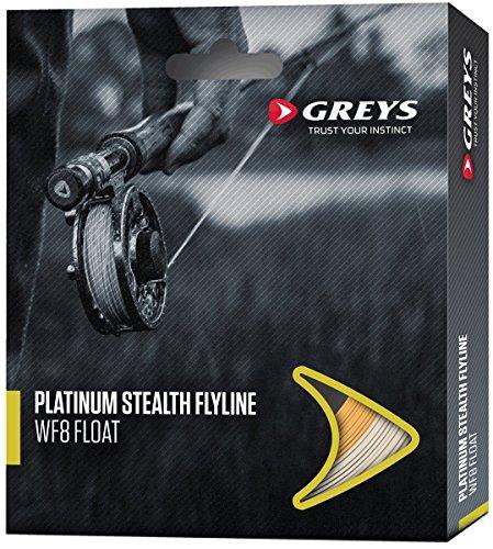 Greys Fliegenschnur Platinum Stealth WF-6-F