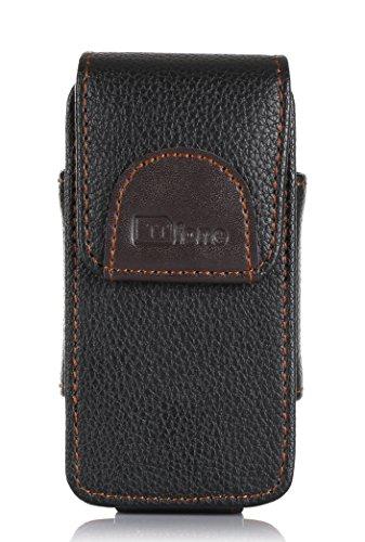 TTfone Premium Custodia per Cellulari Big Button Star (TT300) con Clip da Cintura