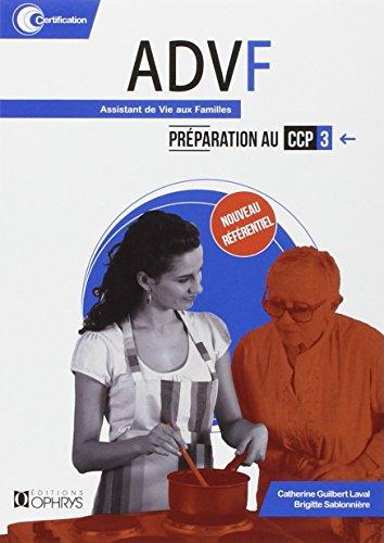 ADVF - Préparation au CCP3
