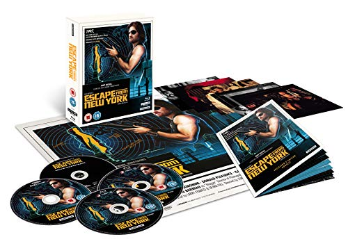 Escape from New York – Collector's Edition (4K Ultra HD and Blu-Ray) [2018]