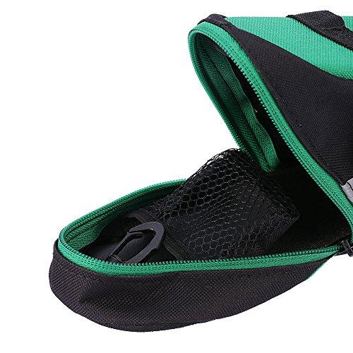 Docooler Fahrrad Sattel Beutel/Fahrrad Tasche Aussentasche Grün