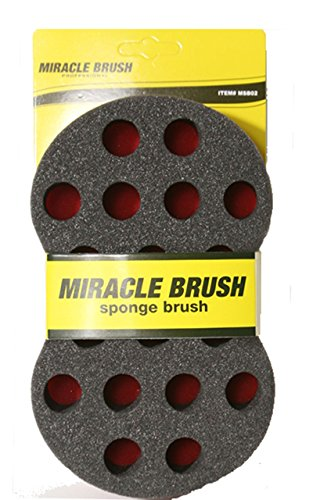Miracle Twist Hair Brush/Sponge For Large Dreads & Afro Holes #MSB02 by Miracle