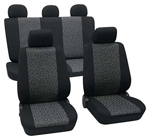 Sitzbezüge housses de protection Lux universel convient pour FIAT