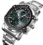 Best Watches - BHGWR Mens Analogue Digital Watch - Men Military Review