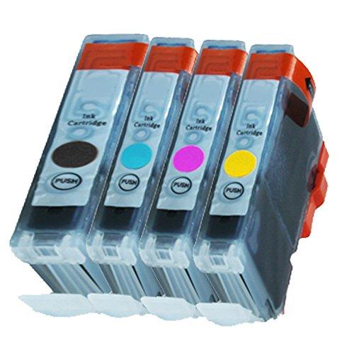 4 Druckerpatronen Tinte für Canon IP3000 IP4000 IP4000R Multipass C 100 ersetzen BCI-3 und BCI-6 -