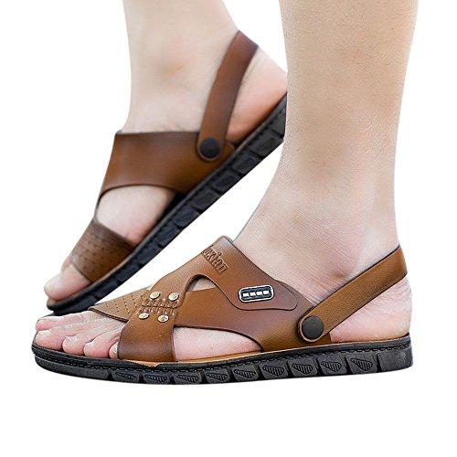 Infradito uomo,classic madrid birko-flor, sandali unisex - adulto styledresser calzature vera pelle di bufalo scarpe con forma ortopedica comodi sandali da uomo