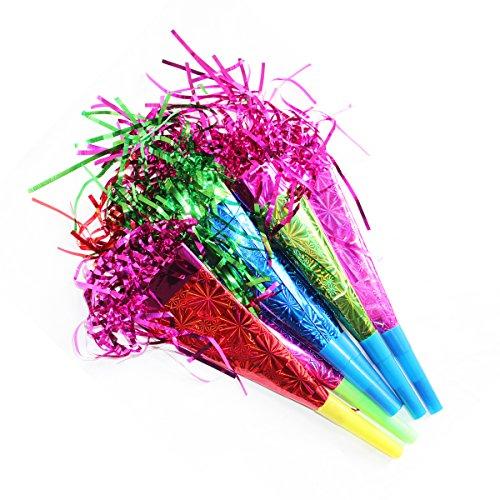 Lot de 6 couleurs-Lively sarbacanes votre fête