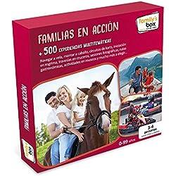 """COFRE DE EXPERIENCIAS """"FAMILIAS EN ACCIÓN"""" - Más de 550 experiencias multitemáticas en toda España"""