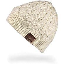 Bluetooth cuffie senza fili cappello Bluetooth Beanie Hat Cappello Music  unisex berretto caldo morbido maglia tappi 2e1f516a1d0f