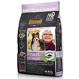 Belcando Finest GF Senior [4 kg] getreidefreies Hundefutter | Trockenfutter für empfindliche ältere Hunde | Alleinfuttermittel für Hunde ab 1 Jahr