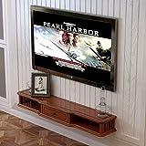 MTX Ltd Tv-Wand- und Deckenhalterungen Wandmontierter Tv-Schrank Tv-Konsole mit Schubladenwand Indoor-Haushalt zu Hause Langlebig, 80 cm