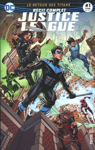 Justice League, Tome 1 : Le réveil des titans ! par From Urban Comics Editions