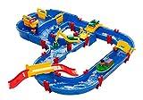 Aquaplay 8700001628 - MegaBridge, Wasserbahn mit viel Zubehör, Für Kinder ab 3 Jahren
