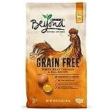 Purina Beyond Alimento para gatos seco natural, sin grano y con pasta de pollo y huevo, bolsa de 3 libras, paquete de 1
