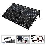 ECO-WORTHY 100 Watt 12 Volt Kit monocristallino portatile pieghevole del pannello solare per la carica della batteria della barca di RV