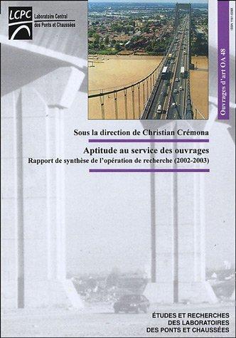 Aptitude au service des ouvrages : Rapport de synhtse de l'opration de recherche (2002-2003)