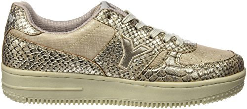 Yumas Damen Alexia Klassische Schuhe Gold