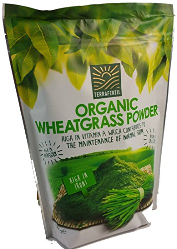 Organic Wheat grass Powder by Terrafertil 567g Big Value pack Test