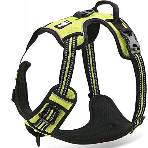 Treat Me Ultra-Soft Hundegeschirr Softgeschirr Brustgeschirr Hunde Geschirr Sicherheitsgeschirr MitZugentlastungVerstellbar Größe XS S M L XL