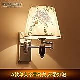 YU-K Moderne Wandleuchte dimmbare LED Spiegel vorderen Leuchte Wand lampI,), einem Kopf, keine Lichtschalter