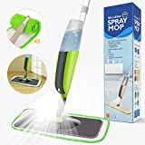 Spray Mop,Aiglam Floor Mop,Microfiber Mop with 2 Free Reusable Microfiber Pads Multi Mop