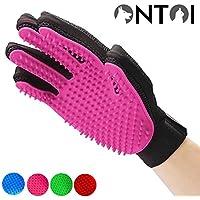 Ontoi Haustier Tierhaar Handschuh Pet Grooming Bürste Deshedding Glove