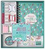 Toga KT76 Lama Kit de Papeterie Carnet Lama Papier Multicolore 23 x 25,5 x 3 cm