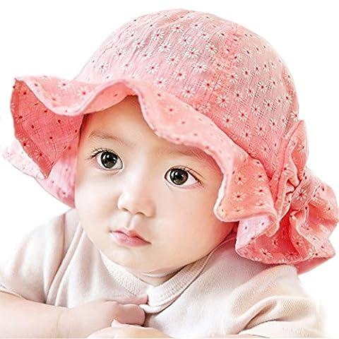 iHomey - Chapeau - Bébé (garçon) 0 à 24 mois rose Hot Pink-(6-24Months)