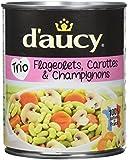 d'aucy Flageolets/Carottes/Champignons 800 g