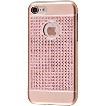 iShield 8/7 Luxury Cases with Crystals from Swarovski for iPhone 8/7 - Case Type: iShield 8/7 Luxus Pink