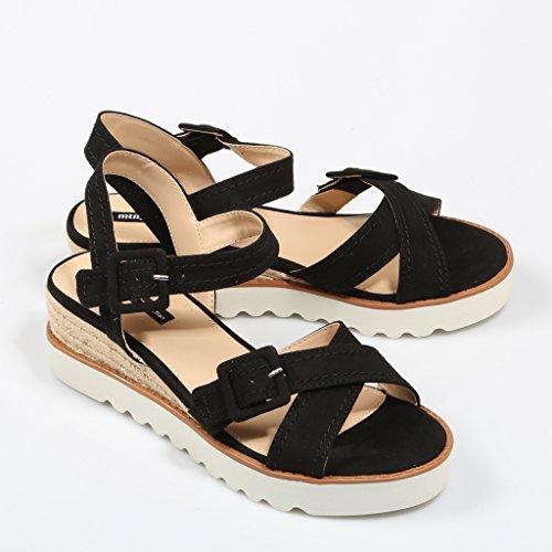Sandale Mustang Noir 58466 Noir