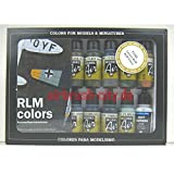 Vallejo Farben Model Air RML Set 100 508 Airbrush Set Modellbau Farbe