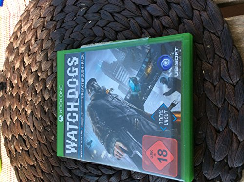 Watch Dogs - Special Edition [Xbox One] (Dogs Limited Watch Edition)
