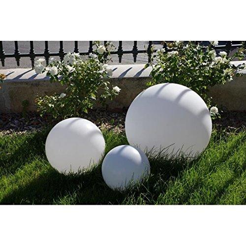 Sphere lumineuse E27 sur secteur 60cm - Blanche