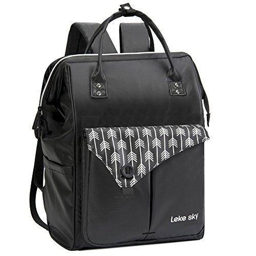 327dbb634d Lekesky Laptop Backpack 15.6 Anti-theft Women s Rucksack Ladies Casual  Daypack Waterproof