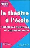 Le Théâtre à l'école : Techniques théâtrales