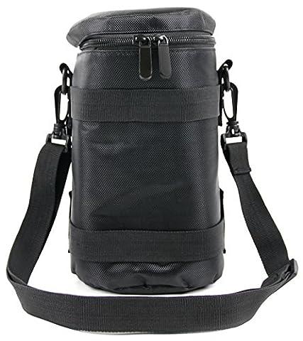 Hochwertiger Objektiv-Bag mit Innenpolsterung, verstellbarem Tragegurt und Gürtelschlaufe – geeignet für Nikon AF-S DX NIKKOR 18-300mm f/3.5-5.6G ED VR