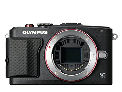 Olympus Pen E-PL6 Kamera (16,1 Megapixel, Full HD, 7,6 cm (3 Zoll) Display, WiFi) inkl. 14-42mm Pancake Objektiv/8GB Flash Air Karte schwarz - 5