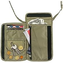 Travel Inspira - Neck-Pouch-Money-Belt-Wallet für Reisepass,Brustbeutel zum Tragen und Verstecken von Wertsachen