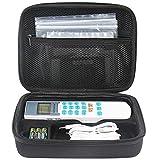 Estuche de viaje PAIYULE para FDA Healthmate borradoForever Unidad YK15AB TENS Masajeador electrónico de pulsos Masajeador de tenis con agarre de goma suave. (Negro)