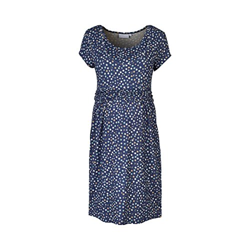 2HEARTS WE LOVE BASICS Umstands- und Still-Kleid Confetti blau 46 (Konfetti-print Kleid)