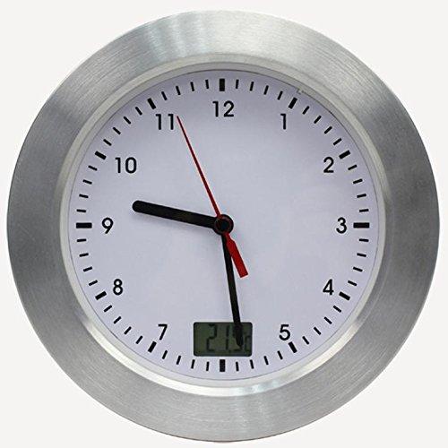 LOTOS Horloge imperméable électronique Intelligente de (17 * 17 * 6CM), White