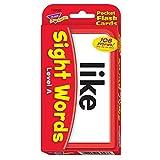 Trend Enterprises Sight Words Level A Pocket Flash Cards