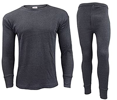 Men Thermal Long Johns Bottoms Trousers Long Sleeve T Shirt Top Vest Ski Wear : everything 5 pounds (or less!)