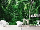 Carta Da Parati Foto Personalizzate 3D Sfondi Natura Foresta Paesaggio Murales Verde Alberi Carte Da Parati Sfondo Home Decor