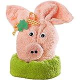 Geschenk-Set Glücksschwein hellrosa Größe 23